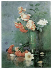1183.Roses Floral wall Art Decoration POSTER.Graphics to decorate home office.