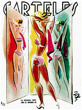 277.Art Decoration POSTER.Graphics to decorate home office.Carteles Bikini Girl.