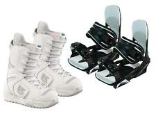 Burton Coco Snowboard Boots & Symbolic Bindings Package Deal Womens 7 8 9 10 New