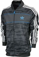 ADIDAS ORIGINALS MENS ADV SUPERSTAR TRACK TOP JACKET SWEAT BLACK Sz S M L XL