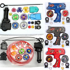 Hot Metal Fusion Top Masters Rapidity Fight Rare Beyblade 4D Launchers Grip Sets