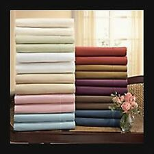 New HOTEL Collection 600 TC  Bedding pieces 100% EGYPTIAN COTTON Solid