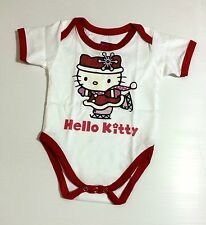 NEW Baby Girl HELLO KITTY Onesies One Piece Fans Jumper Sizes 0-18 Months Old