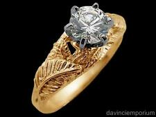 Nenya Galadriels Elven Ring of Power 14k Yellow Gold Lord of the Rings