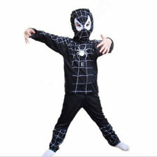NEW Boy Kid Spiderman VENOM Costume 3pcs Set Playsuit Mask/Tops/Pants Halloween