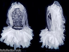DESIGN YOUR OWN BRIDE TUTU SET HEN DO VEIL TIARA HEN NIGHT WHITE TUTU SET