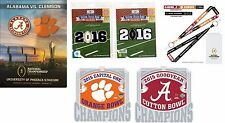 COLLEGE NATIONAL CHAMPIONSHIP PROGRAM $22.49 2015 - 2016 ALABAMA CRIMSON TIDE