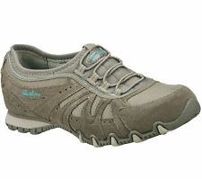 New Skechers 22431/GRY BIKERS-ROUND TRIP Women's Casual Shoes Bungee Sneaker