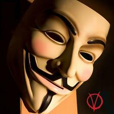 V for Vendetta Mask Anonymous Guy Fawkes Halloween Party Costume Props Cosplay