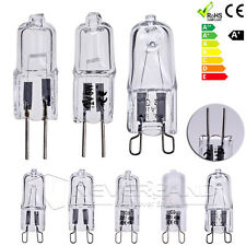 10x G4 G9 10/20/25/40/50W Clear Frosted Halogen Capsule Light Lamp Bulb 12V/220V