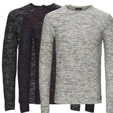 6900 Jack & Jones Men's Knit Jumper Sweatshirt O-Neck Long sleeve multicoloured