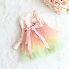 Fashion New Casual Arrival Spring Kid's Lace Dressing For girls' Clothing Skirt