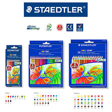 STAEDTLER - Noris Club coloured pencil smooth soft painting 12, 24, 36 Color Set