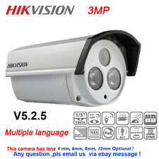 Hikvision DS-2CD2232-I5 Full HD 3MP IP66 IR EXIR Bullet Network Camera POE