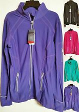 *NWT*Kirkland Signature Womens Soft Full Zip REFLECTIVE Running Athletic Jacket