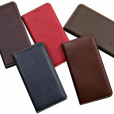 For Apple iphone 6 plus S Luxury Genuine Leather Flip Case Cover Hand Made Korea