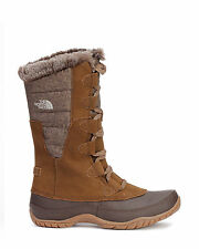 The North Face Womens Nuptse Purna Snow Boots Waterproof Brown