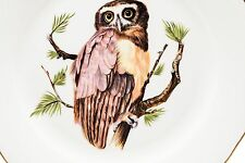 Pickard China Great Horned Owl Plate