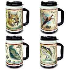 American Expedition 24oz Thermal Mug - Mountain Lion, Pheasant, Bass, Alligator
