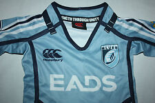 Canterbury Cardiff Blues Home Pro Kids Infant Rugby Jersey Shirt Top,size  0-4