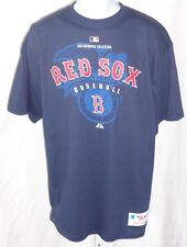 Boston Red Sox Baseball Adult Short Sleeve T-shirt Blue Eagle Background Red Sox