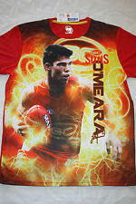 AFL 2015 Gold Coast Suns Mens Electric Player T Shirt Tee SIZES S-3XL