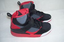 New! Toddler Nike Jordan Flight 45 Athletic Shoes 384521-021 BlackGym Red  38F