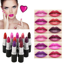 Lot Colors Cosmetic Makeup Long Lasting Bright Lipstick Nude Colors AE