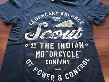 INDIAN MOTORCYCLE CHARLOTTE SCOUT TEE - BLACK