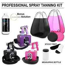 Square Spray Tanning Machine Kit Black Pink Purple Inc Tent Pink Black New Model