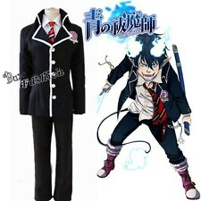 NEW Fashion Ao no Exorcist Rin Okumura Men Boy School uniforms Cosplay Costume