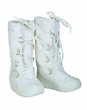 Genuine Italian Army Issue Cold Weather Winter White Snow Walking Arctic Boots