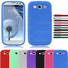 Back Case Cover Pouch Skin Rubber Soft Silicone For Samsung Galaxy S3 SIII I9300