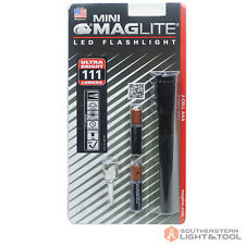 Mini Maglite Compact LED AAA Flashlight with Pocket Clip - BLACK - SP32016
