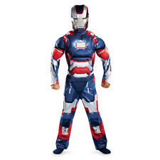 Iron Man 3 Iron Patriot Classic Muscle Chest Child Marvel Halloween Bookweek Cos
