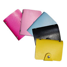 Hot Slim Pu Leather Pocket Business ID Credit Card Wallet Holder for 24 Cards