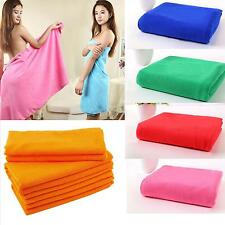 Microfiber Towel Sport Footy Travel Camping Swimming Drying Washcloths 11 Colors
