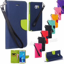 Hybrid Cute Design Wallet Flip Card Leather Phone Case Cover For Samsung Galaxy