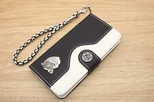 Eagle Head Wallet Leather Flip Handmade Stand Case Cover For Galaxy Note 3 4 5