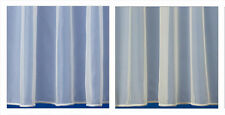 Best Selling Sheer Plain White or Ivory Voile / Net Curtain - Premium Quality