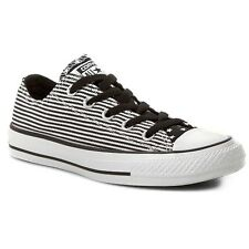 New Converse All Star Chuck Taylor 144830F Ox Star & Bars Shoes Low Black/White