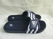 New! Men's Adidas  Santiossage QD Slide Sandals  Style 045245 Black   21L