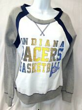 Indiana Pacers Basketball NBA Ladies Crew Neck Long Gray Sleeves Sweatshirt