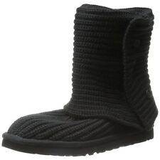 Ugg Australia Womens Shoes Classic Cardy Boots Black