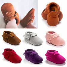 Fashionable Baby Girls Boys Shoes Toddler Infant Shoes Tassel Newborn shoes Hot