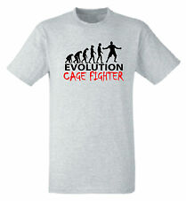 Evolution of a Cage Fighter t shirt Evolution of Cagefight tshirt MMA UFC