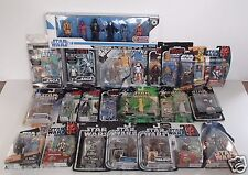 Star wars Legacy Collection General Grievous Greedo Mickey Mouse Luke Skywalker