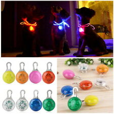 NEW Fascinating Pet Dog Cat Puppy LED Flashing Collar Safety Night Light Pendant