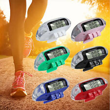 Multifunction Walking Step Distance Pedometer Calorie Calculation Counter LCD