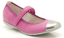 Clarks DANCE BEE Girls Lipstick Pink Leather Ballet Style Shoes 7 - 10 F & G Fit